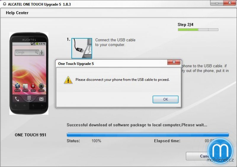 Alcatel One Touch Upgrade