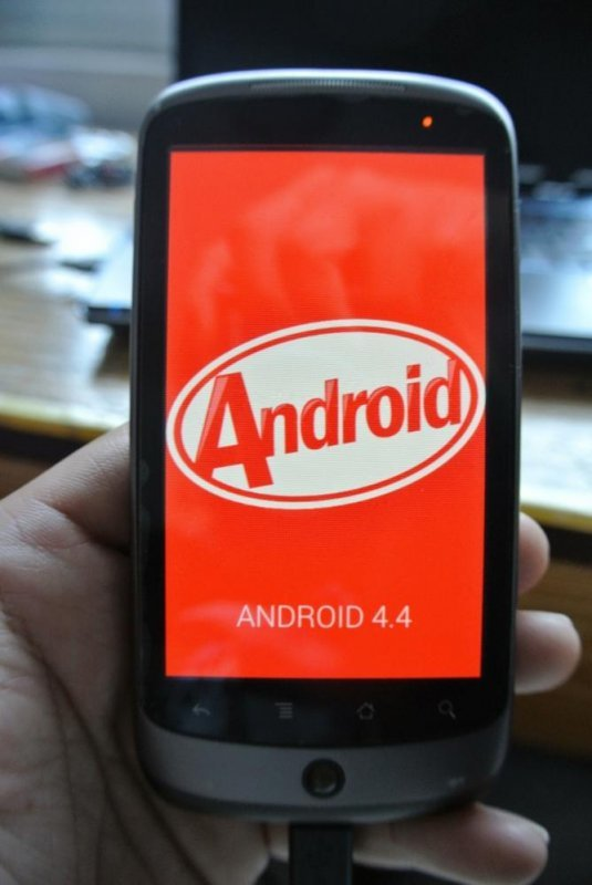 Android 4.4 KitKat na Google Nexus One