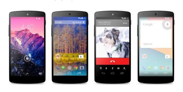 Android 4.4 KitKat na Nexusu 5