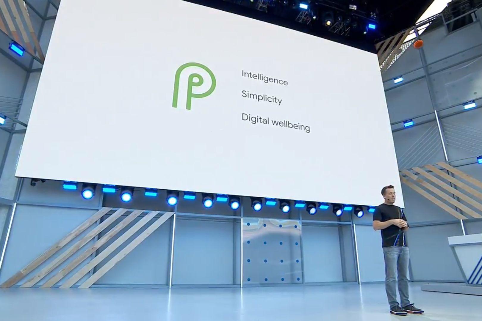 Android P na Google I/O