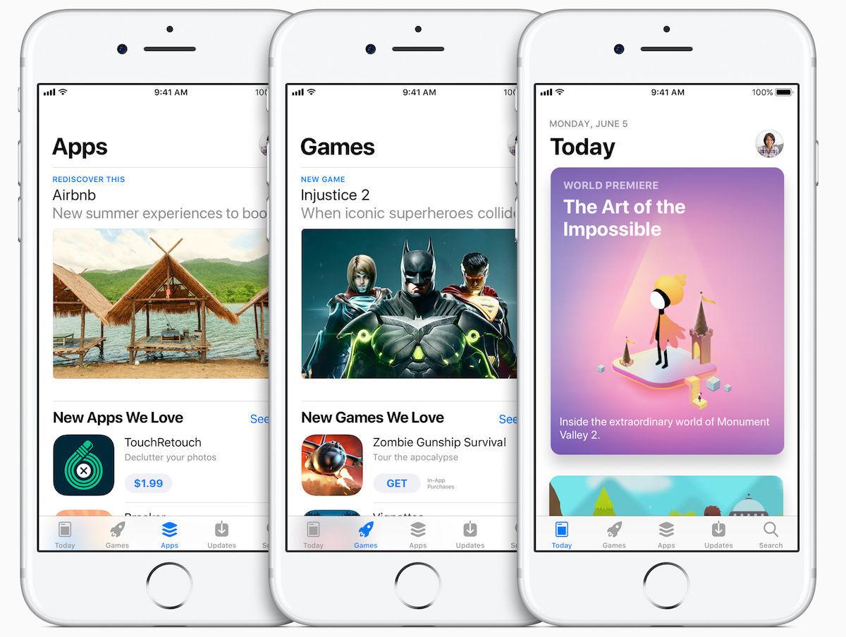 App Store ios 11