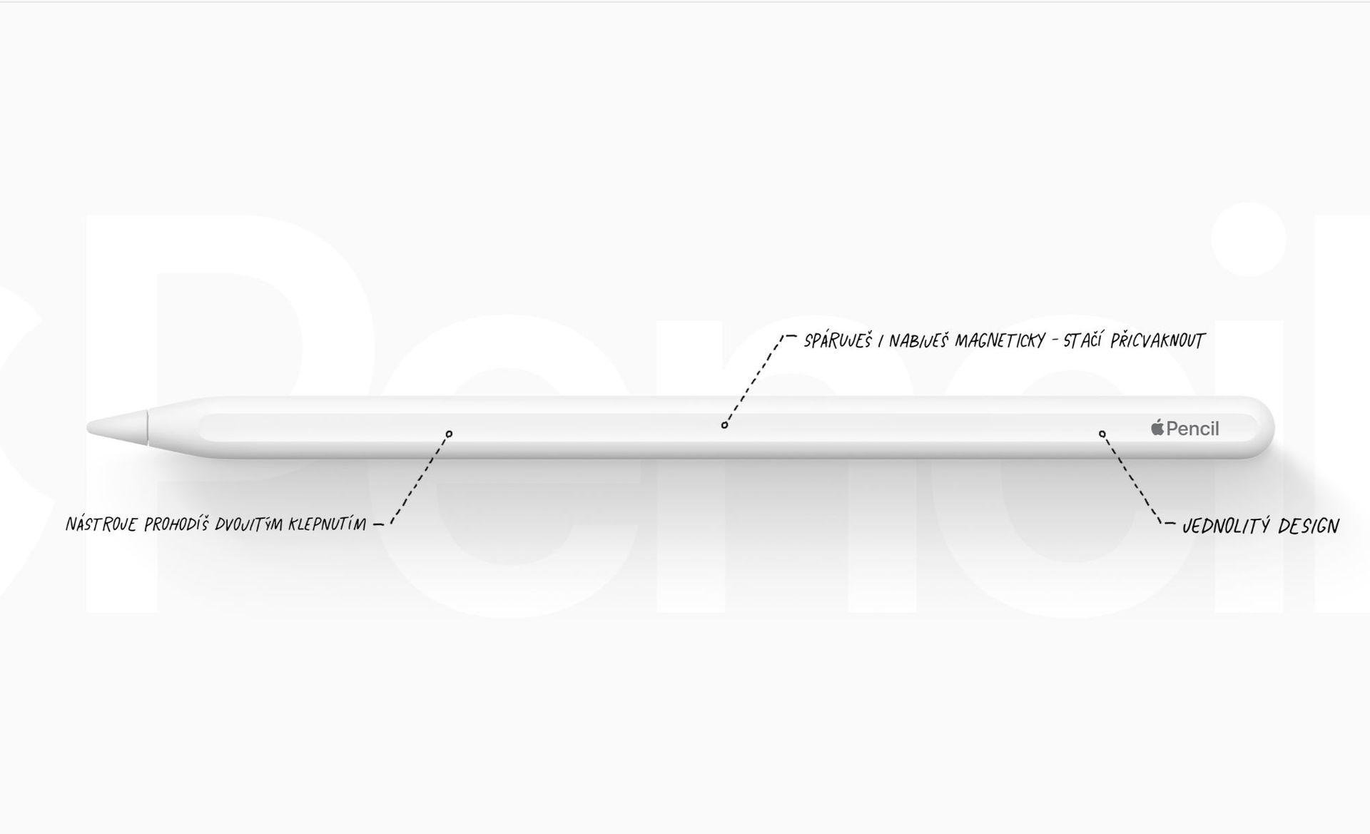 Apple Pencil 2. generace