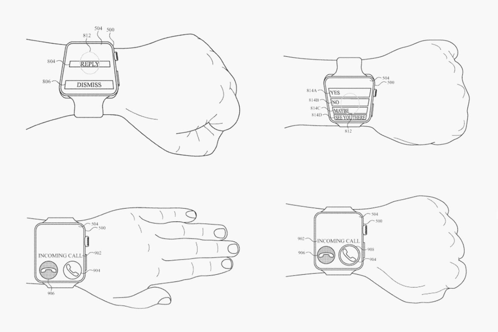 Apple Watch 5 patent