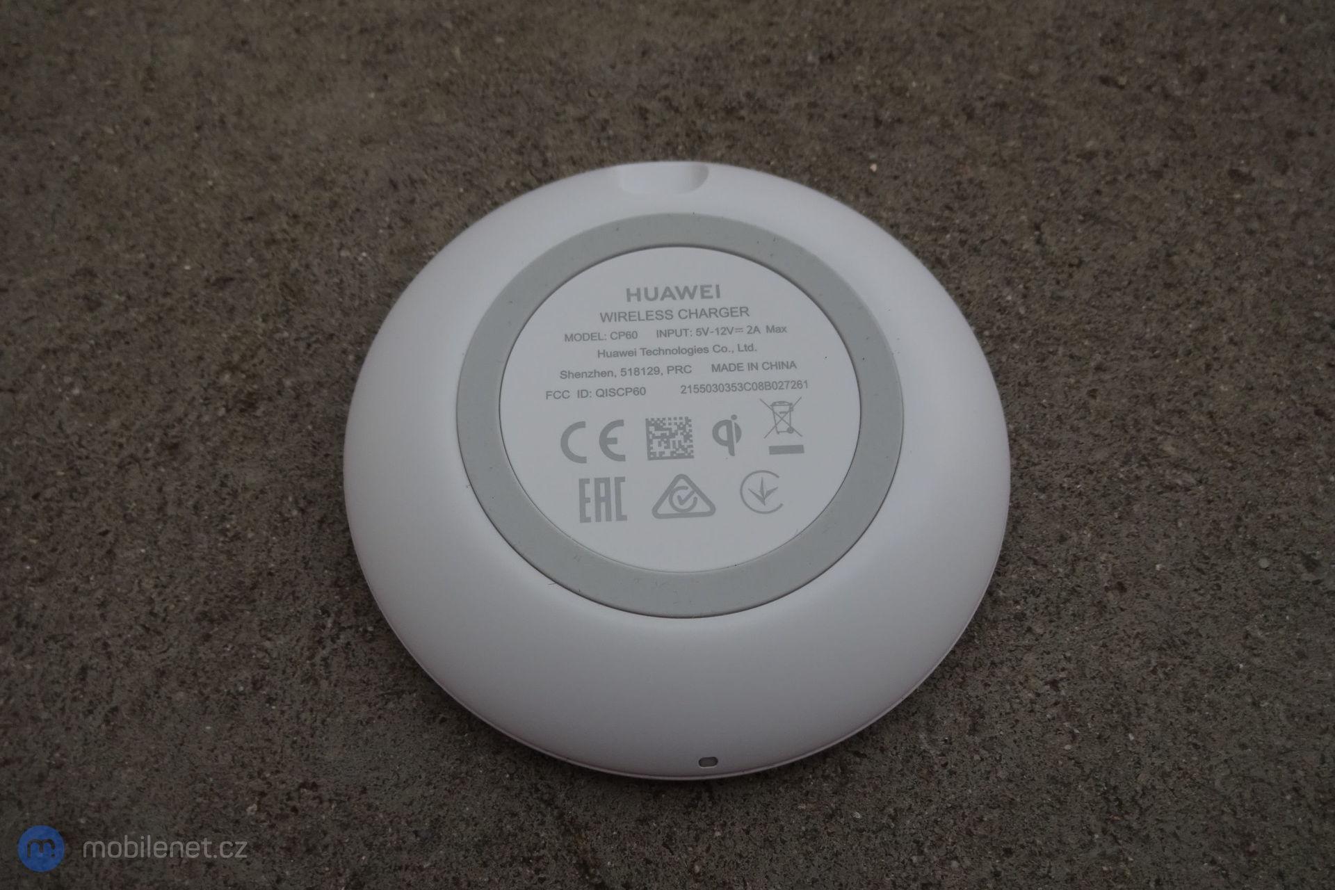 Bezdrátová nabíječka Huawei