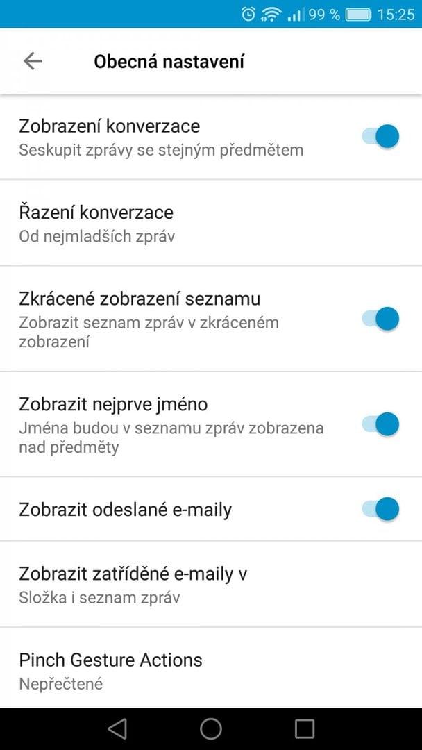 BlackBerry Hub - Android