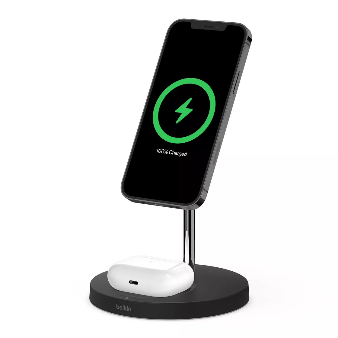 BoostCharge Pro MagSafe 2-in-1 Wireless Charger