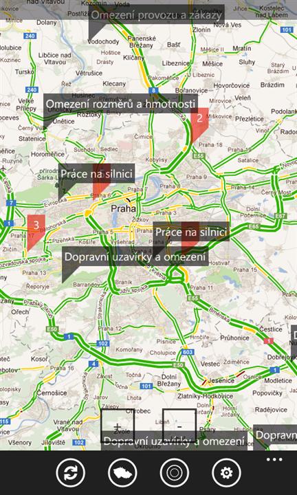 Dopravní situace
