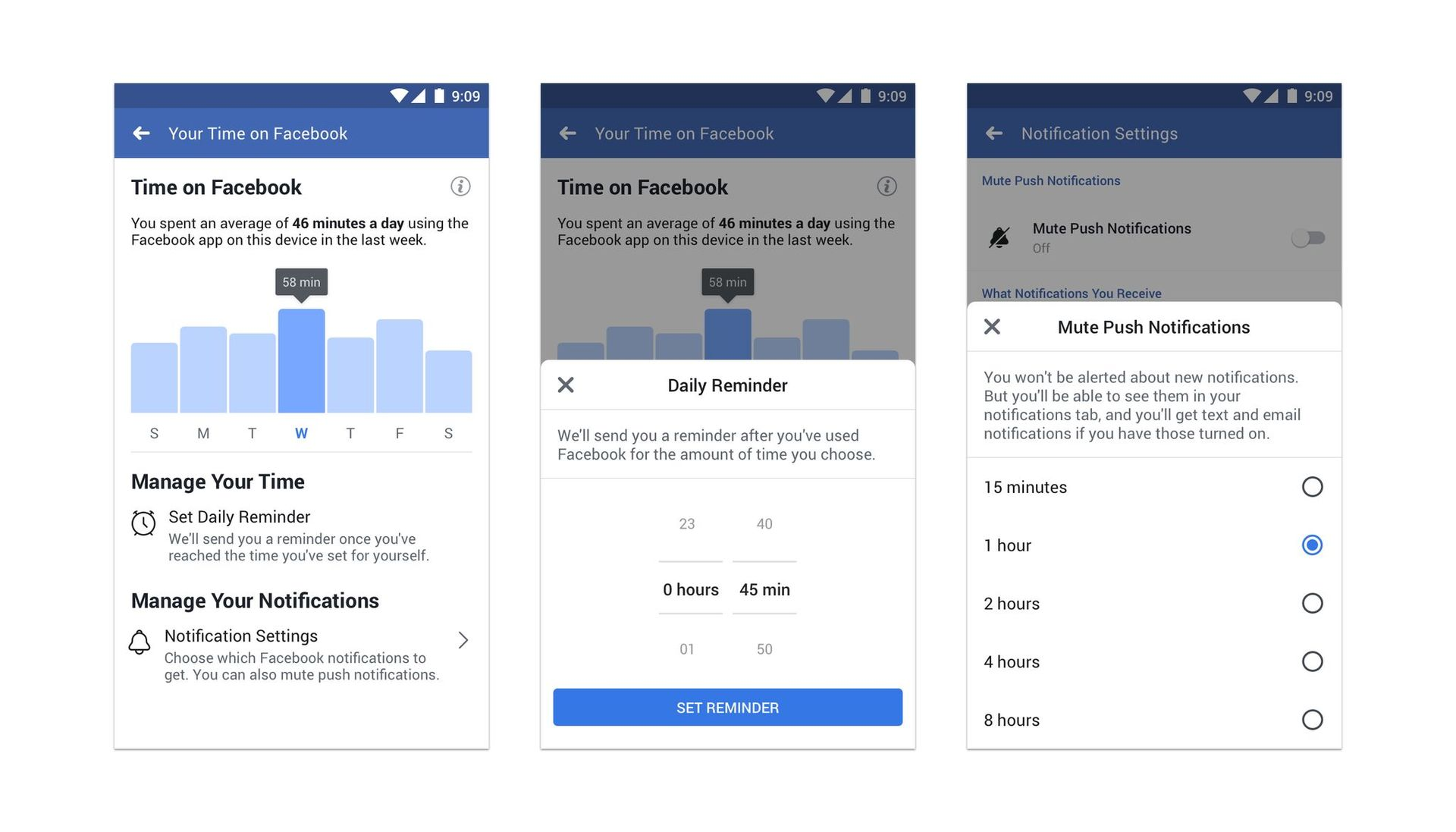 Facebook your activity
