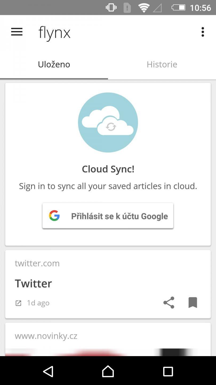 Flynx - Přečtěte si web chytře