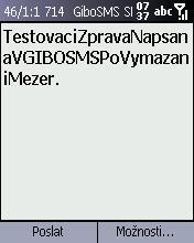 GIBO SMS: posílejte SMS zprávy jen za pár haléřů