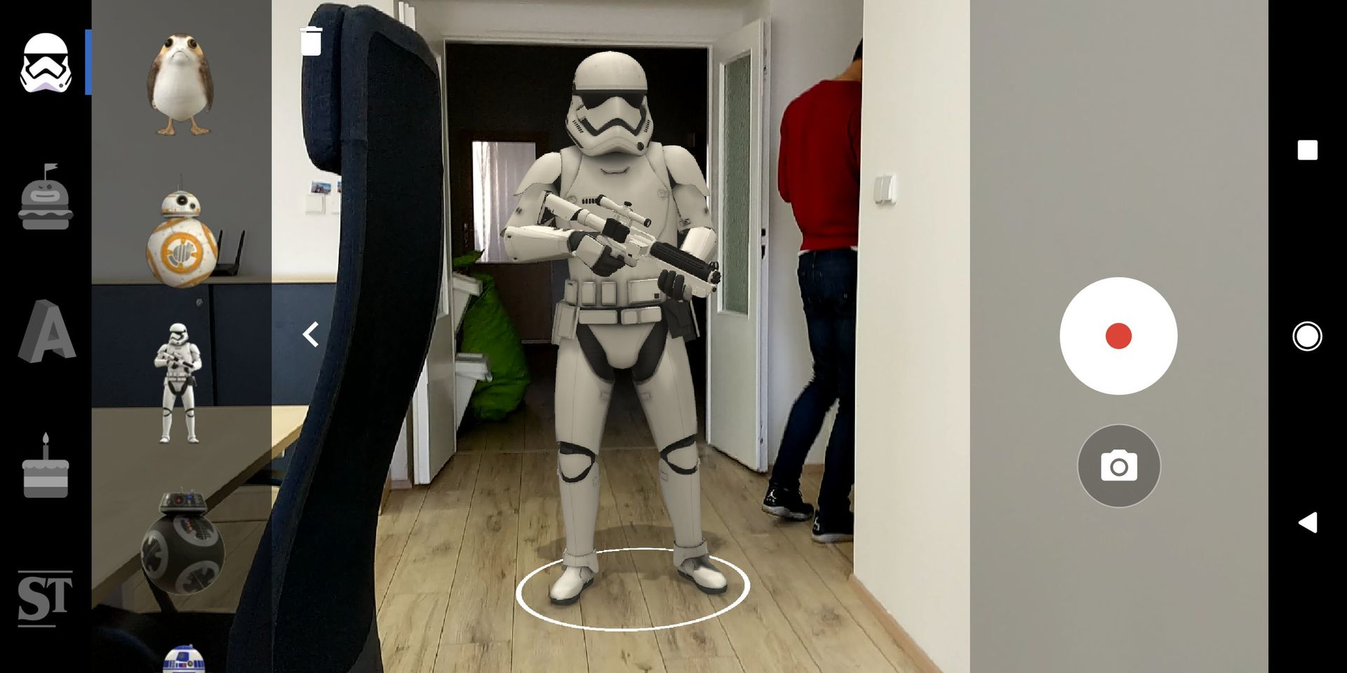 Google ARCore - Star Wars