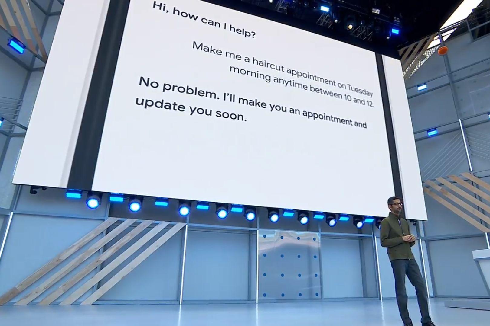Google Asistent na Google I/O 2018
