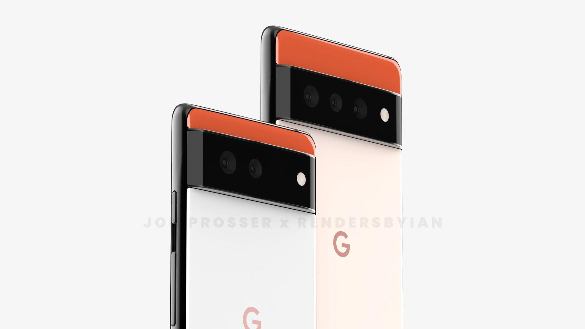 Google Pixel 6 a Pixel 6 Pro
