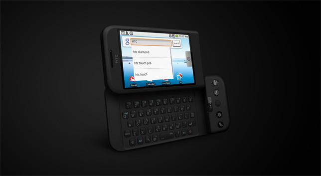 HTC Dream: nebrandovaný T-Mobile G1 oficiálně