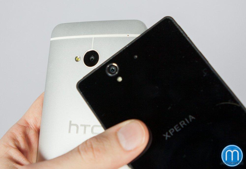 HTC One a Sony Xperia Z