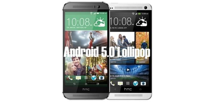 HTC One (M8) a One (M7)