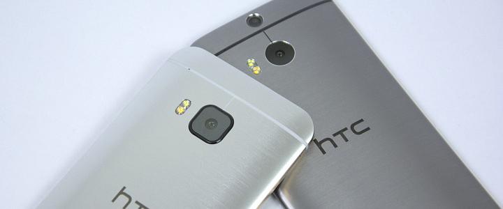 HTC One (M9) a (M8)