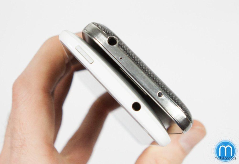 HTC One mini a Samsung Galaxy S4 mini