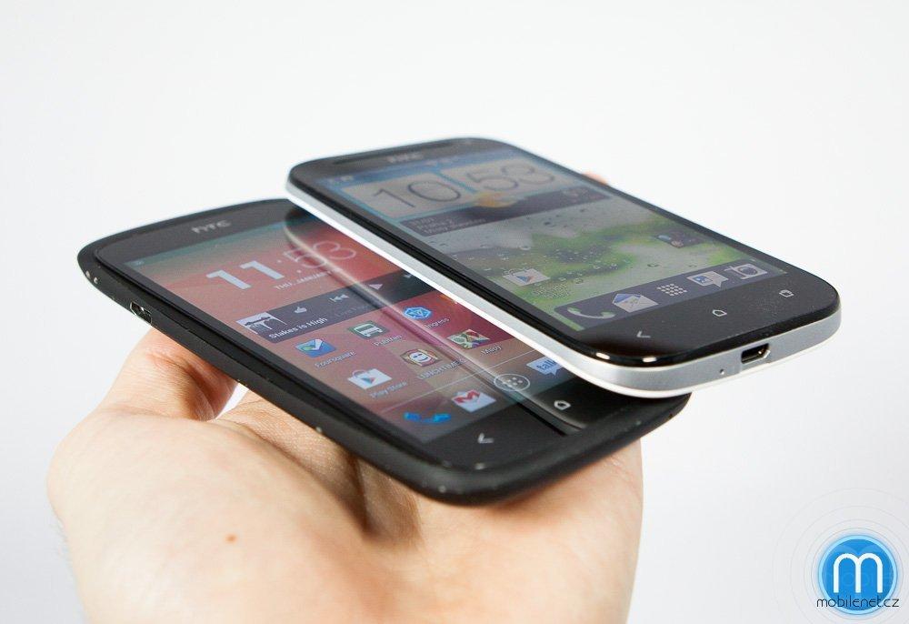 HTC One SV vs. HTC One S