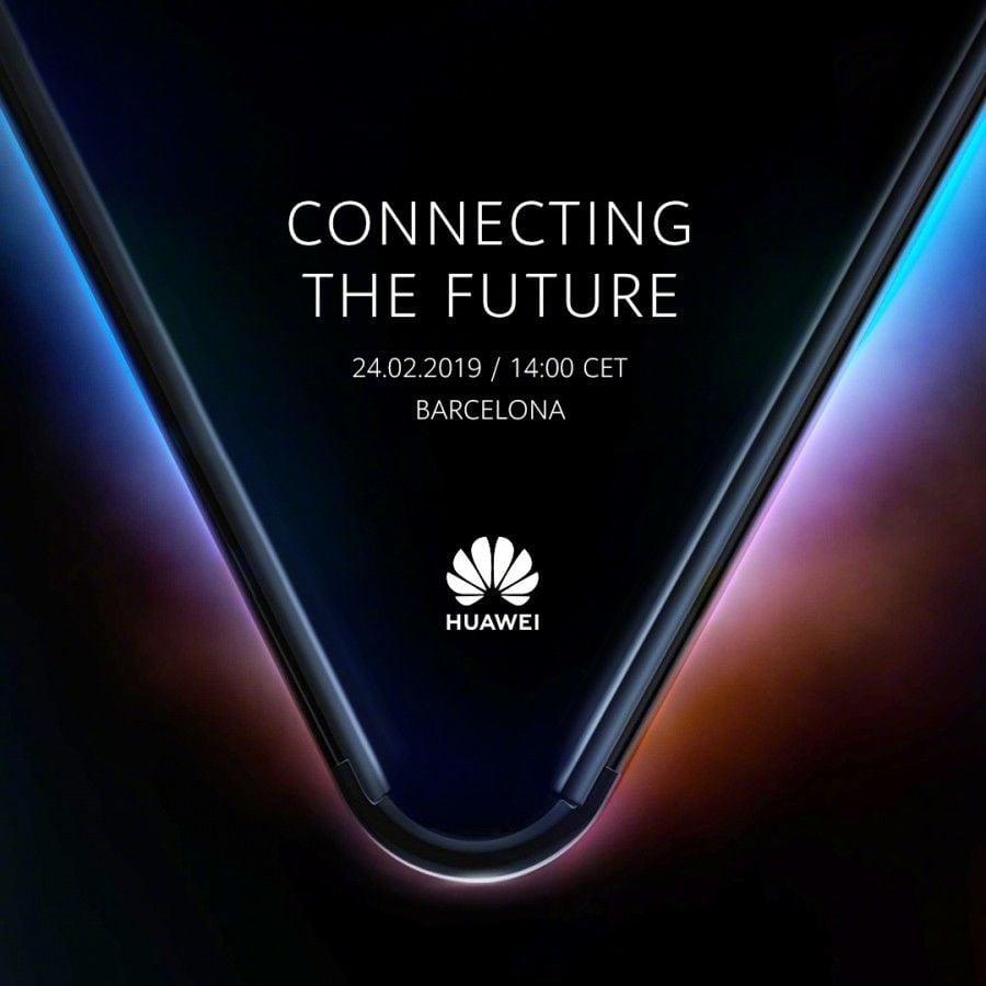 Huawei 5G ohebný telefon teaser