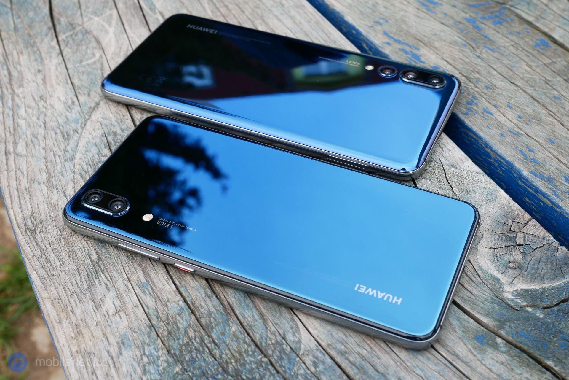 Huawei P20 Pro a P20