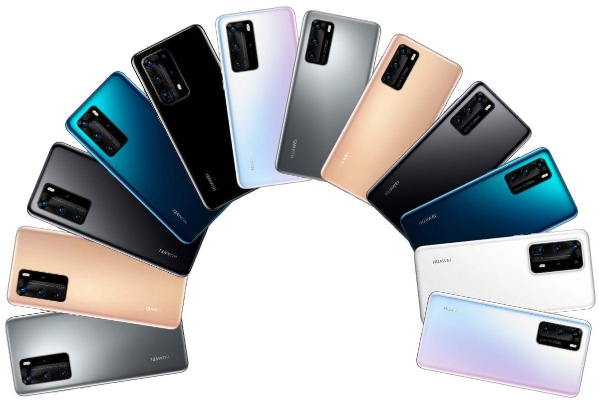Huawei P40, Huawei P40 Pro a Huawei P40 Pro Premium