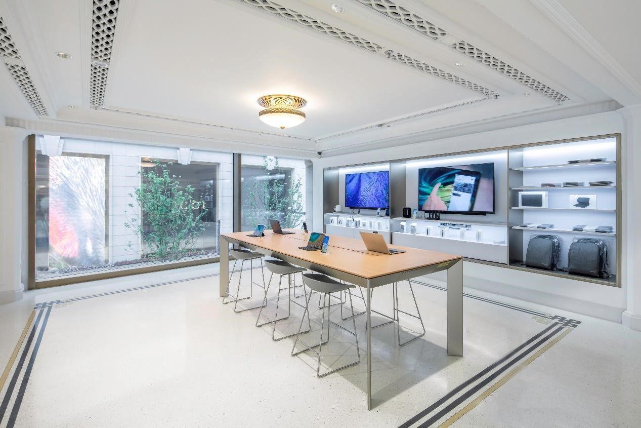 Huawei showroom