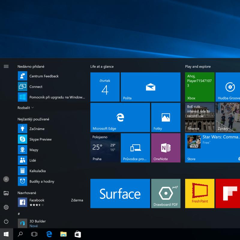 Test Windows 10 Anniversary Update: zase o něco dál