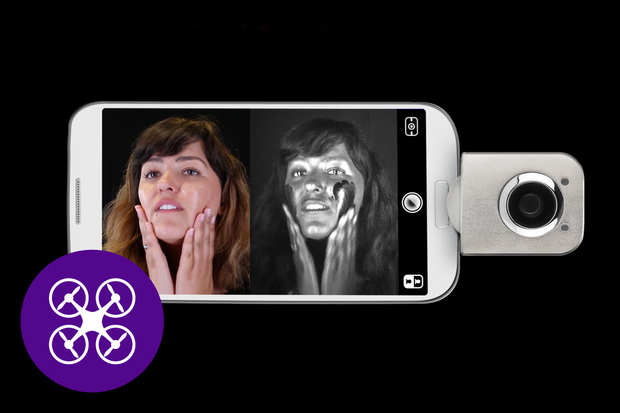 GadgetMix: UV kamera pro smartphony a špionská nabíječka