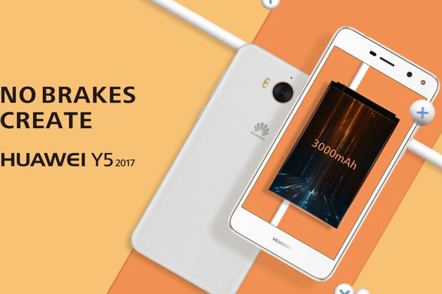 Huawei Y5 (2017) představen: minimu zlepšení vládne silnější baterie