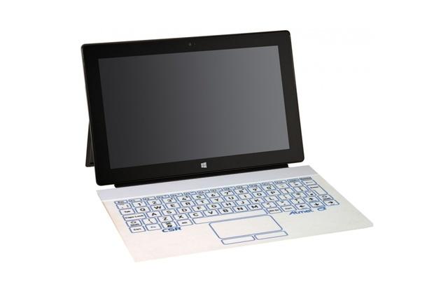Bude mít budoucí Surface od Microsoftu dotykovou klávesnici z e-papíru?