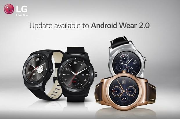 Android Wear 2.0 míří na trojlístek chytrých hodinek od LG