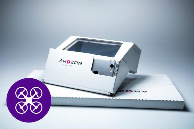 Aryzon z Kickstarteru vykouzlí rozšířenou realitu s 3D hologramy