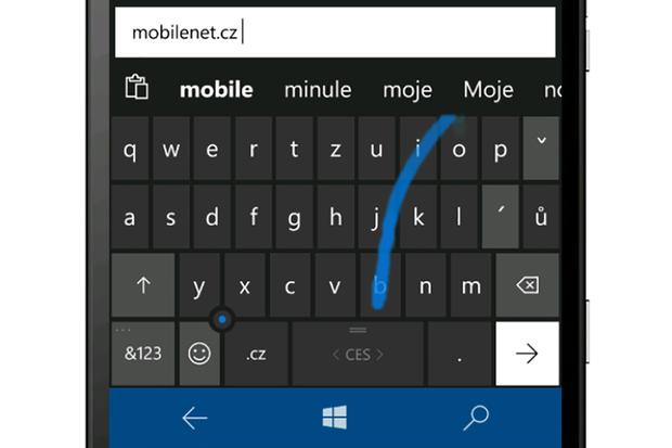 Oblíbená klávesnice z mobilních Windows se přesouvá na tablety