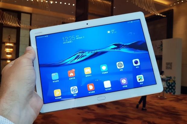 Fotogalerie nových tabletů MediaPad M3 Lite ze Šanghaje