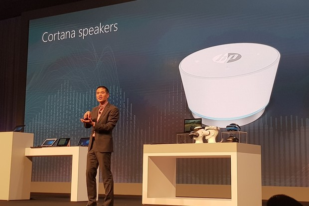 Microsoft ukázal další reproduktor s Cortanou, vyrobí ho HP