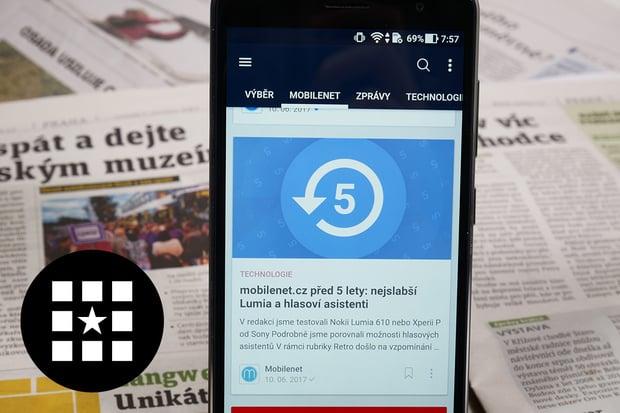 Nahraďte noviny aplikacemi pro váš Android