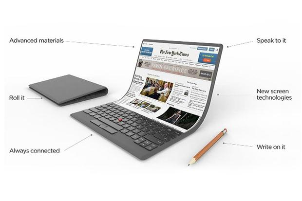 Po telefonech a tabletech zamýšlí Lenovo ohebné displeje i pro konvertibly