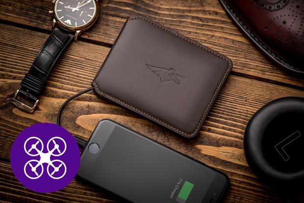 Peněženka Volterman Smart Wallet z Indiegogo vyfotí zloděje