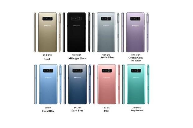 Samsung Galaxy Note 8 uniká v nové barevné variantě. A že mu to sluší
