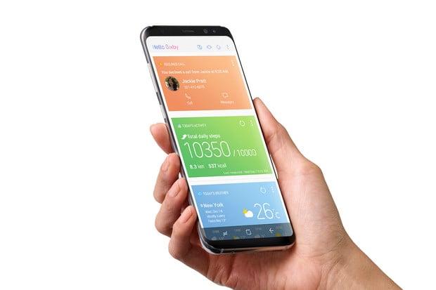 Samsung umožnil přenastavit tlačítko Bixby na Galaxy S9, S8, Note9 a Note8