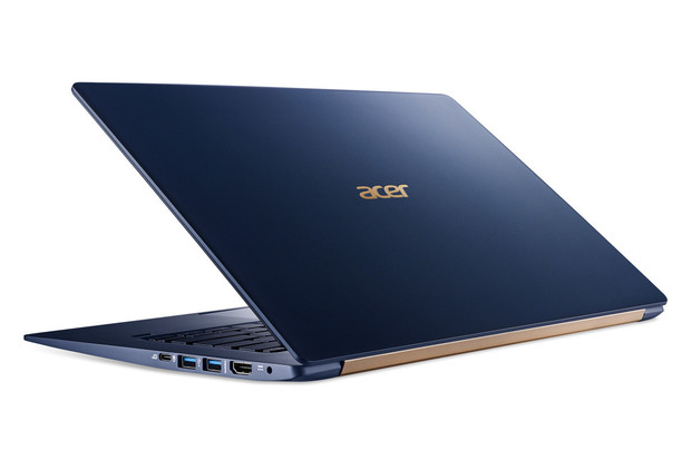Acer představil ultralehký notebook Swift 5 a konvertibl Spin 5