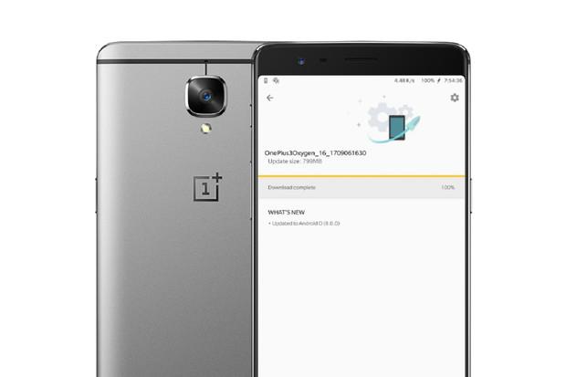 OnePlus spouští aktualizaci na Android Oreo pro modely 3 a 3T