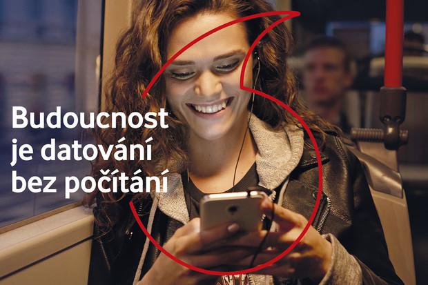 Vodafone přináší neomezený tarif pro jednotlivce za sympatických 799 Kč měsíčně