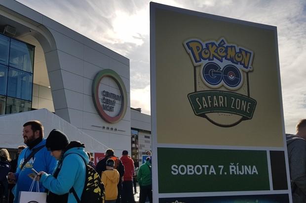 Pokémon Go šílenství opět v Česku, v Praze proběhl Safari event