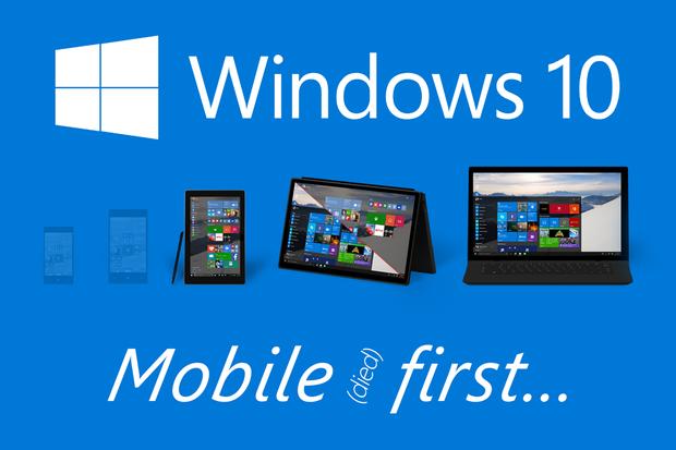 Skon mobilních Windows paradoxně nejvíce odskáčou uživatelé počítačů