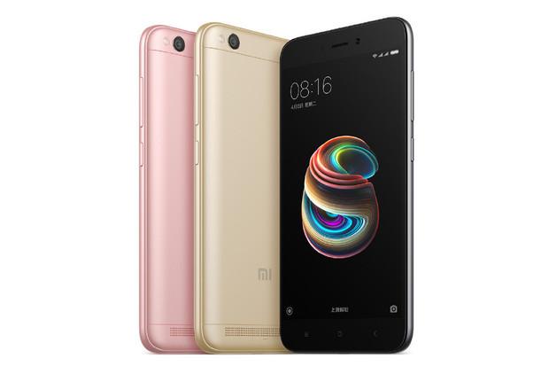 Xiaomi představilo Redmi 5A s 5palcovým displejem a Snapdragonem 425