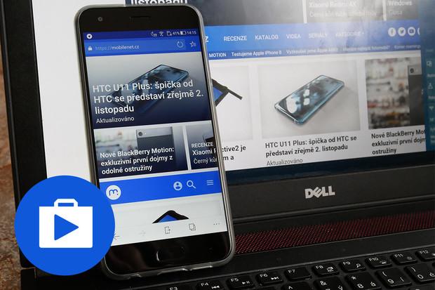 Otestovali jsme preview verzi prohlížeče Edge pro Android