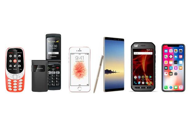 Výběr telefonu podle konkrétních preferencí. Na co si dát pozor?