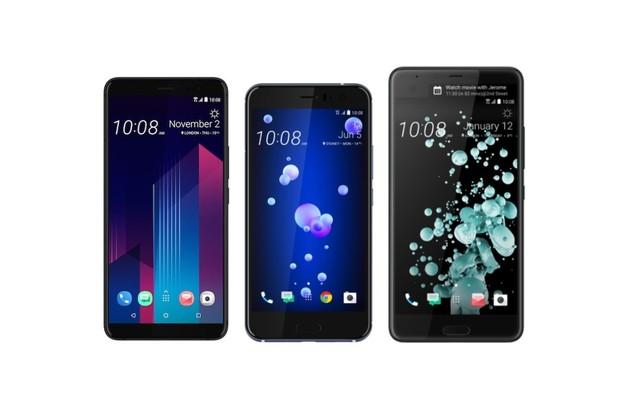 Srovnání špičkových HTC pro letošní rok: U Ultra vs. U11 a U11+
